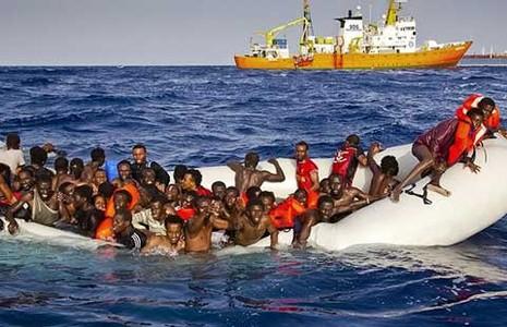 Bi kịch chìm tàu xảy ra trên Địa Trung Hải? - ảnh 1