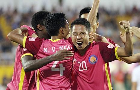 Vòng 7 Toyota V-League: Hạnh phúc của CLB Sài Gòn - ảnh 1