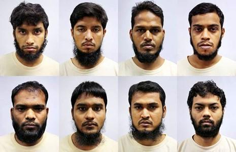 Tám nghi can khủng bố bị bắt ở Singapore - ảnh 1