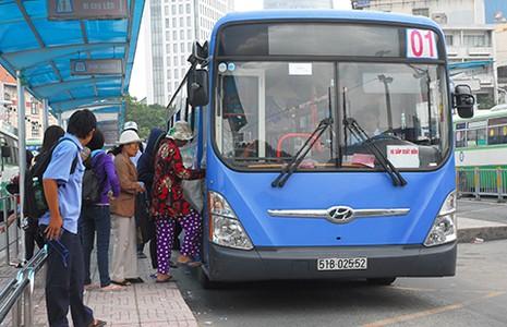 Thủ tướng phê duyệt dự án xe buýt xanh ở TP.HCM - ảnh 1