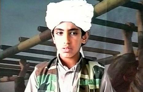 Con trai Bin Laden xuất đầu lộ diện - ảnh 1