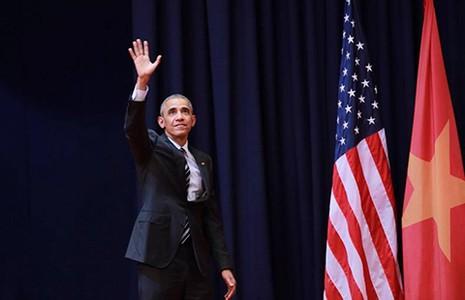 Tổng thống Mỹ Barack Obama: 'Tôi lạc quan về tương lai của hai nước' - ảnh 1