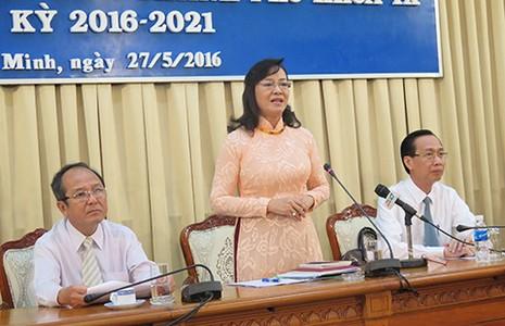 TP.HCM bầu đủ 105 đại biểu HĐND - ảnh 1