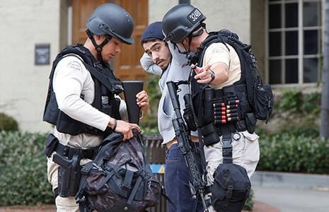 Nổ súng trong trường đại học ở Los Angeles - ảnh 1