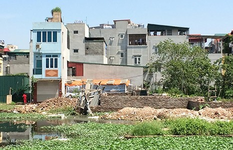 Hà Nội: Nhà 'nhảy dù' trên đất nông nghiệp - ảnh 1