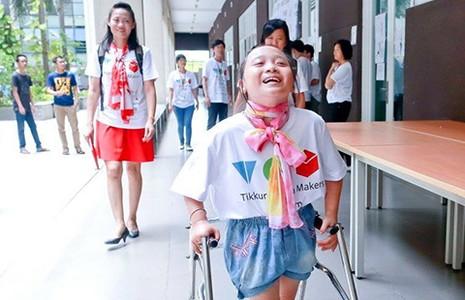 72 giờ xúc động dành cho người khuyết tật - ảnh 1