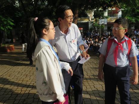 Hơn 4.000 học sinh vào cuộc đua lớp 6 Trường Trần Đại Nghĩa - ảnh 2