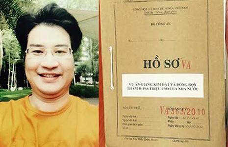 Cha của Giang Kim Đạt bị xử lý về tội rửa tiền  - ảnh 1