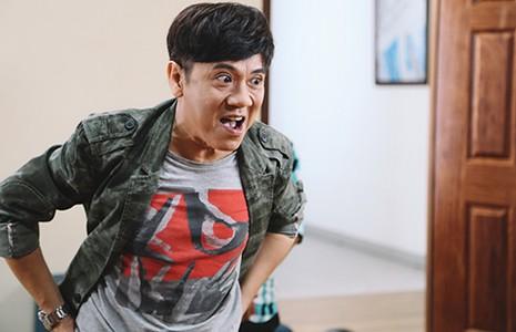 NSƯT Thành Lộc bị chấn thương trên phim trường - ảnh 1