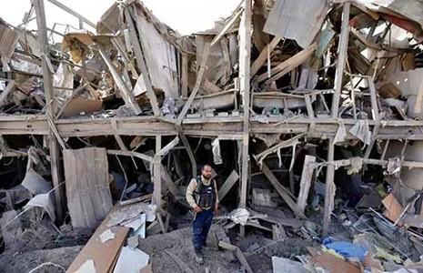 Vụ tấn công khủng bố của Taliban tại thủ đô Kabul - ảnh 1