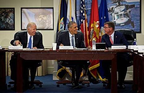 Obama muốn tấn công IS trên mọi mặt trận - ảnh 1