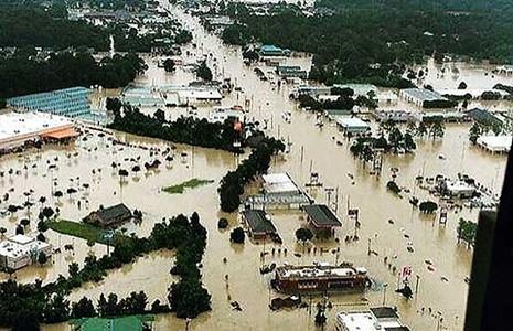 Gia đình thống đốc bang Louisiana cũng chạy lụt - ảnh 1