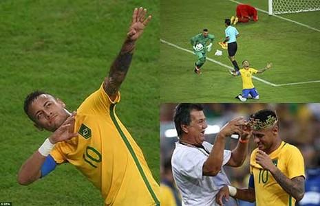 Chung kết bóng đá nam Olympic: Người hùng Neymar  - ảnh 1