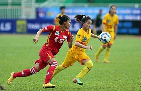Giải bóng đá nữ VĐQG - Cúp Thái Sơn Bắc: ĐKVĐ TP.HCM bại trận - ảnh 1