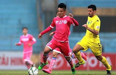 Đấu sớm vòng 23 V-League: Nhà bầu Hiển phất cờ - ảnh 1