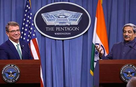 Mỹ và Ấn Độ liên kết hậu cần - ảnh 1