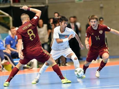 Thua đậm Nga nhưng Futsal Việt Nam vẫn để lại dấu ấn - ảnh 1