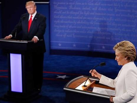 'So găng' lần 3 với bà Clinton: Thảm họa của ông Trump - ảnh 2