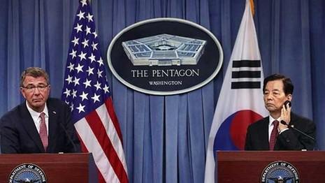 Mỹ nhất trí sử dụng vũ khí hạt nhân bảo vệ Hàn Quốc - ảnh 1