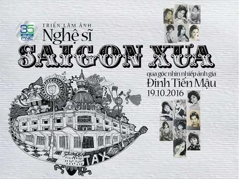 Đến đường sách xem ảnh nghệ sĩ Sài Gòn xưa - ảnh 1