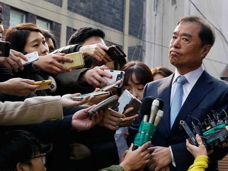 Tổng thống Hàn Quốc có thể bị điều tra và thẩm vấn - ảnh 1