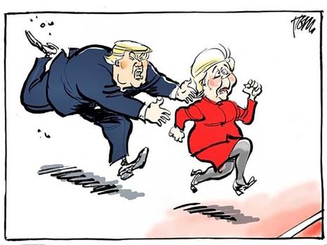 Bầu cử Mỹ xong, ai sẽ ra tòa?  - ảnh 1