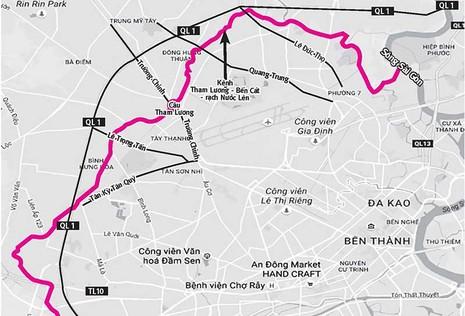 3.480 tỉ đồng mở đường ven kênh Tham Lương - ảnh 1