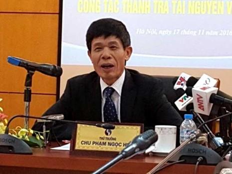 Bộ TN&MT chịu mọi kỷ luật về sự cố Formosa - ảnh 1