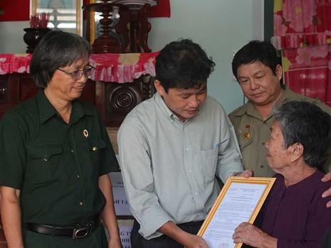 Sở Tư pháp TP.HCM trao nhà tình nghĩa tại Bến Tre - ảnh 1