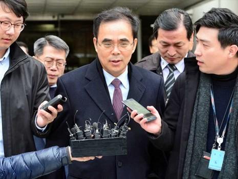 Cựu thứ trưởng Bộ Văn hóa và Thể thao Hàn Quốc bị bắt - ảnh 1
