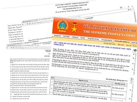 Công khai án trên mạng: Dân dễ tiếp cận, giám sát - ảnh 1