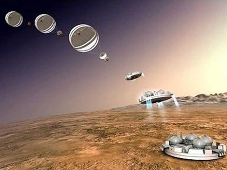 Tàu thăm dò sao Hỏa cũng cần 'tự sướng' - ảnh 1