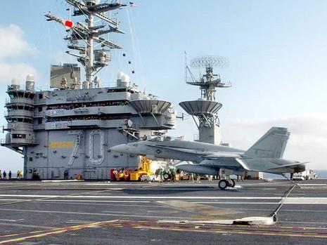 Tàu sân bay Mỹ sang biển Đông - ảnh 1