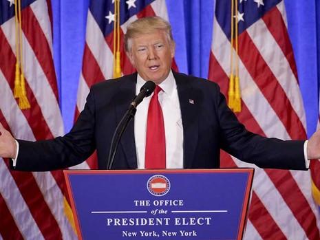 Ông Trump bắt đầu gây sóng gió - ảnh 1
