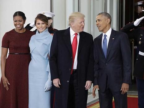 Donald Trump nhậm chức tổng thống  - ảnh 1