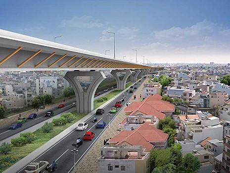 Đầu tư hàng chục ngàn tỉ xây đường trên cao - ảnh 1