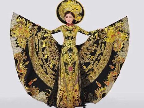 Á khôi Trương Thái Thùy Dương thi Miss Heritage 2017 - ảnh 1