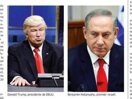 Báo Dominica nhầm ảnh diễn viên hài với ông Trump - ảnh 1