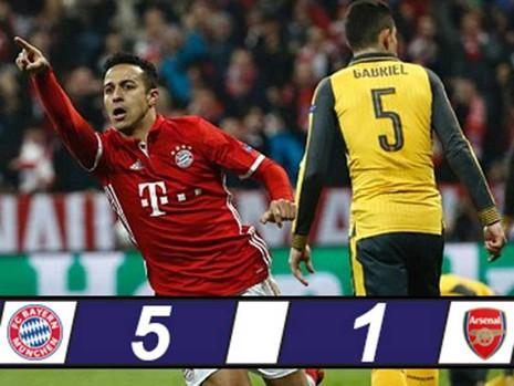 Sau Barcelona đến Arsenal thảm bại - ảnh 1