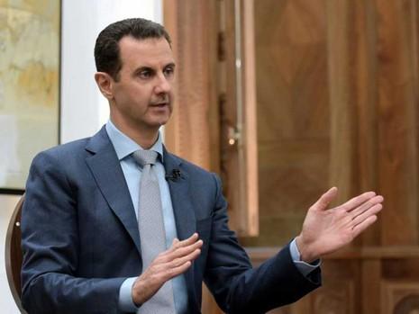 Tổng thống Syria bất ngờ bênh vực tổng thống Trump - ảnh 1