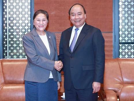 VN - Lào luôn coi trọng quan hệ hữu nghị truyền thống - ảnh 1