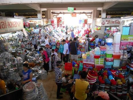 Hơn 120 tỉ đồng nâng cấp khu chợ sầm uất nhất Sài Gòn - ảnh 12