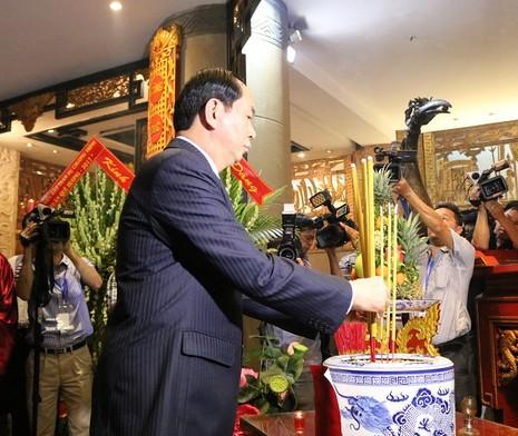 Chủ tịch nước dâng hương các Vua Hùng - ảnh 17