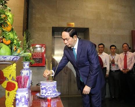 Chủ tịch nước dâng hương các Vua Hùng - ảnh 20