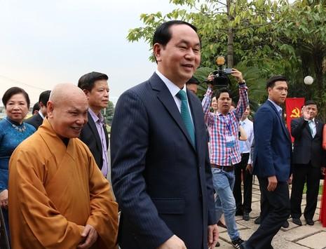 Chủ tịch nước dâng hương các Vua Hùng - ảnh 7
