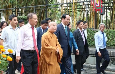 Chủ tịch nước dâng hương các Vua Hùng - ảnh 6