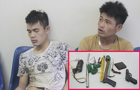 Audio: Mang súng đi trộm chó, hai 'cẩu tặc' bị bắt giữ - ảnh 1