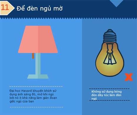 13 mẹo giúp bạn dễ ngủ hơn  - ảnh 10