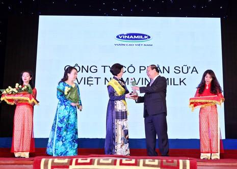 Vinamilk: Thương hiệu vàng thực phẩm Việt Nam - ảnh 1
