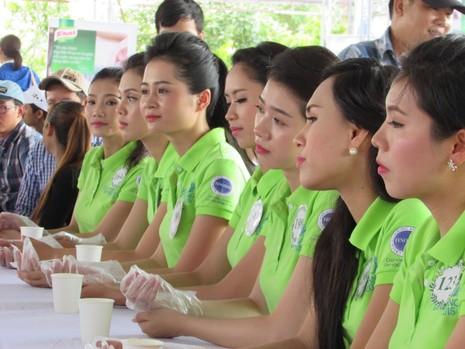 Cùng ngắm các thí sinh Hoa khôi ĐBSCL 2015 trước giờ chung kết - ảnh 8